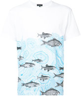 Comme des Garcons x Fornasetti fish print T-shirt - men - Cotton - S