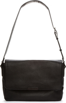 Marc by Marc Jacobs Black Pebbled Leather Classic Messenger