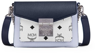 MCM Small Colour-Block Patricia Cross-Body Bag
