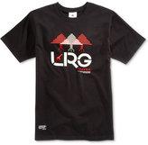 Lrg Men's Illusion Graphic-Print Cotton T-Shirt