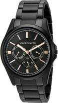 Vince Camuto Men's VC/1084BKBK Multi-Function Bracelet Watch