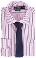 Lauren Ralph Lauren Striped Oxford Spread Collar Classic Button Down Shirt
