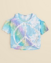 Flowers by Zoe Girls' Peace in the Clouds Tee - Sizes S-XL