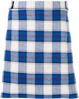 Givenchy plaid wrap-over shorts - men - Cotton/Polyester/Viscose - 48