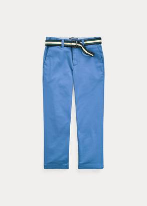 Ralph Lauren Belted Stretch Skinny Chino
