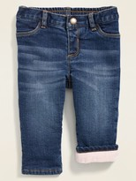 Old Navy Micro Performance Fleece-Lined Boyfriend Jeans for Baby