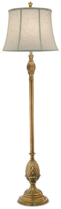 Stiffel   Lite Tops Stiffel Polished Honey Brass Stiffel Floor Lamp
