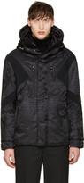 Neil Barrett Black Panelled Ski Jacket