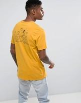 Vans X Peanuts Classic Snoopy T-shirt In Yellow Va36lb50x