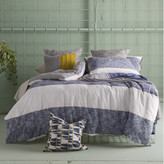 Kas Carina Navy Quilt Cover Set