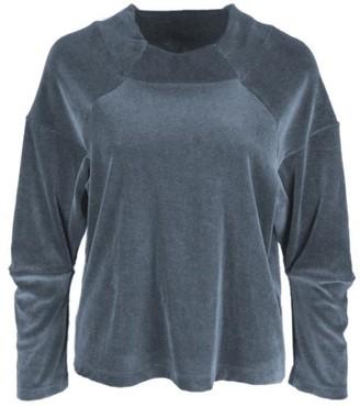Format Mich Sweater Nicki - bluegrey / S