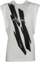 DSQUARED2 Tiger Flash Tank Top