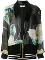 Lanvin printed bomber jacket
