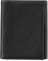 Johnston & Murphy Men's Leather Wallet - Black