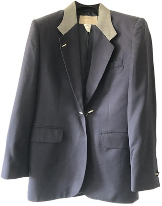 Barbara Bui Navy Wool Jackets