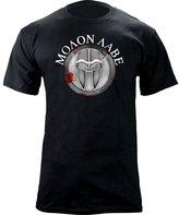 USAMM Molon Labe Ancient Shield T-Shirt (2XL, )