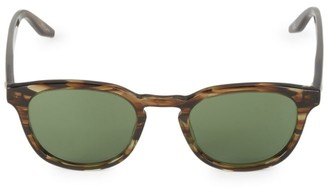 Barton Perreira Gellert 48MM Round Sunglasses