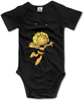 Kra8er Kids Maya The Bee Baby Bodysuits Rompers Little Boys Girls 100% Cotton