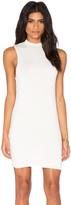Blq Basiq Mock Neck Mini Dress