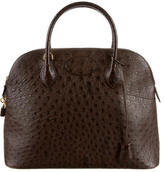 Hermes Ostrich Bolide 35