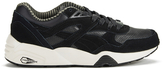 Puma Running R698 Citi Series Low Top Trainers Black/vaporous Grey