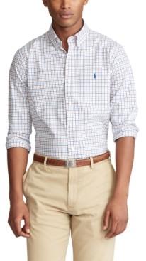 Polo Ralph Lauren Men's Slim-Fit Checked Shirt