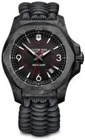 Victorinox I.N.O.X. Carbon, Stainless Steel & Paracord Strap Watch