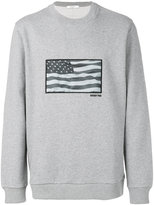 Givenchy American flag sweater - men - Cotton - S