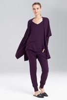 Natori N Retreat Jersey Sweater Knit Topper