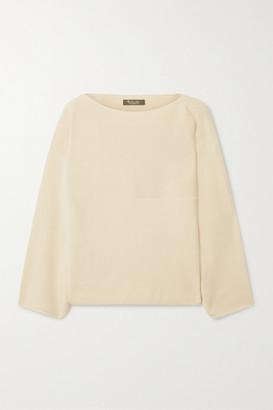 Loro Piana Cubetto Canary Cashmere Sweater - Off-white