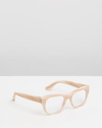 Caddis Neutrals Blue Light Lenses - Miklos Optical Glasses - Blue Light Lenses - Size +0.00 at The Iconic