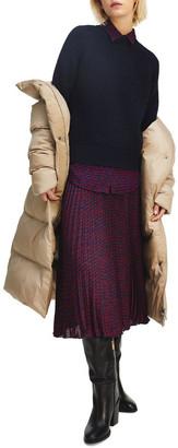 Tommy Hilfiger Bali Pleated Midi Skirt