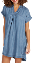Fat Face Miley Dress, Chambray Blue