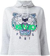 Kenzo cropped Tiger hoodie