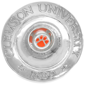 Arthur Court Clemson University Chip and Dip Tray