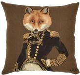 Adorabella Admiral Fox Cushion