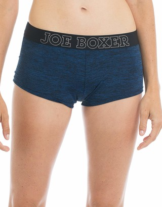 Joe Boxer Women's Space Blue Dye Boy Short Underwear