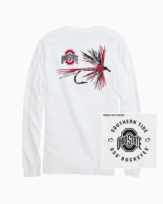 Southern Tide Ohio State Buckeyes Fly Long Sleeve T-Shirt