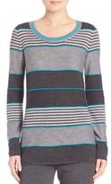St. John Striped Knit Sweater