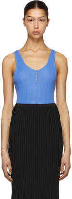 Altuzarra Blue Knit Mirto Tank Top