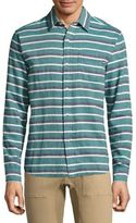 Sol Angeles Casual Button-Down Glade Stripe Shirt
