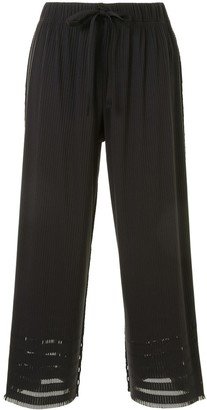 Pleats Please Issey Miyake Layered Pleated Trousers