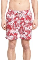 Tommy Bahama Men's Naples Plumeria Paradise Print Swim Trunks
