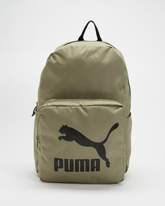 Puma Green Backpacks - Originals Urban Backpack - Size One Size, 27 at The Iconic