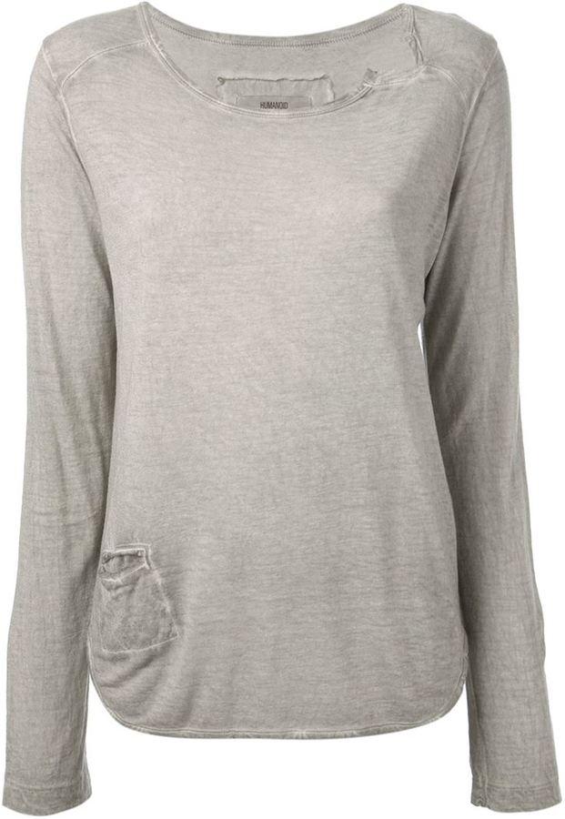 Humanoid pocket top