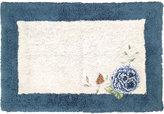 Lenox Blue Floral Bath Rug