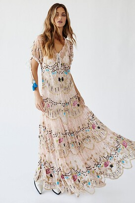 Free People Rosalie Maxi Dress