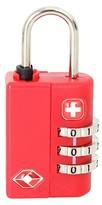 Swiss Gear SwissGear 3-Dial Combination Luggage Lock - Red