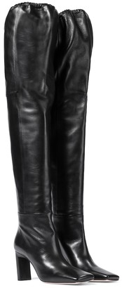 Wandler Exclusive to Mytheresa Anne leather over-the-knee boots