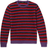 Marc Jacobs - Striped Mohair-blend Sweater